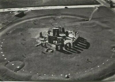 Stonehenge Air View South East Postcard • 7.59£