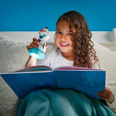Frozen Olaf GoGlow Night Light And Torch LED Disney Kids Bedtime Auto Off Timer • 14.99£