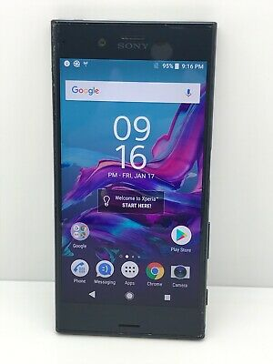 $ CDN108.95 • Buy Sony Xperia XZ F8331 32GB GSM 23MP (Unlocked) Mobile Phone - Forest Blue