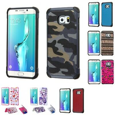 $ CDN10.39 • Buy Samsung Galaxy S6 Edge Plus Design Cute Hybrid Armor Case For Women
