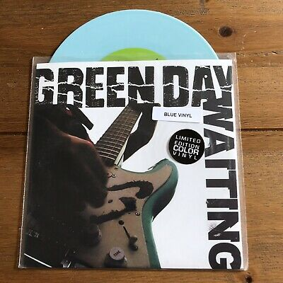 "Green Day - Waiting 7"" Blue Vinyl • 14.95£"