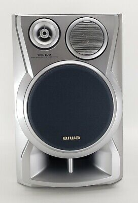 $25.99 • Buy Aiwa Home Speaker Model SX-ND8 Twin Duct 3 Way Bass Reflex