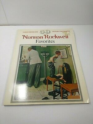 $ CDN9.16 • Buy 1977 Norman Rockwell Favorites Book 50 Large Poster Size Coffee Table Framable