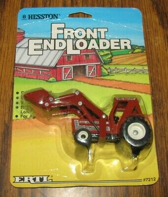 AU28.80 • Buy *ErtL 1/64 AGCO HESSTON 100-90 Tractor Front End Loader Toy #7212 Die Cast 1986