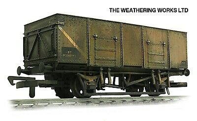 Dapol 21t BR / PO Mineral / Coal Hopper Wagon +optional Load *PRO WEATHERED LOOK • 19.99£