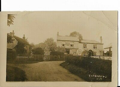 RP Postcard - Burghfield Post Office, Reading, Berkshire. • 3£