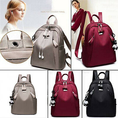 $21.61 • Buy Women Girls PU Leather Backpack Travel Casual Shoulder Bag Rucksack School Bag
