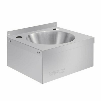 £69.25 • Buy Vogue Stainless Steel Mini Hand Wash Basin Sink Inc. Plug & Chain  P088 Catering