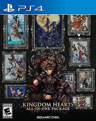 $49.99 • Buy Kingdom Hearts All-In-One Collection - Sony Playstation 4 [NTSC, Disney, 3D] NEW