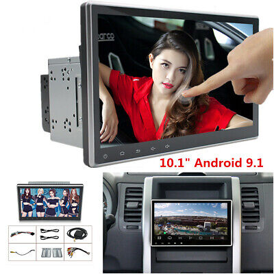 $ CDN213.78 • Buy 2Din 10.1  Android 9.1 Touch Screen Car Stereo Radio GPS Wifi BT Mirror Link OBD