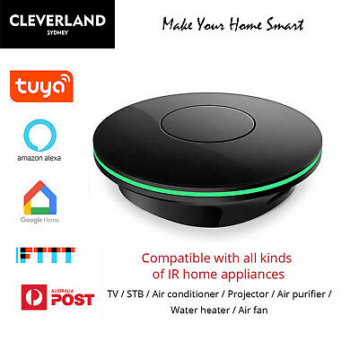 AU49.50 • Buy Smart Home WIFI IR Universal APP Remote Controller Work Withs Google Home Alexa