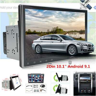 $ CDN239.09 • Buy Double 2Din 10.1  Android 9.1 Touch Screen Car Stereo Radio GPS Wifi 3G/4G BT