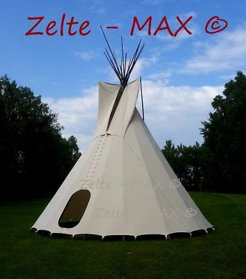 AU199 • Buy New Real Big Tipi Tent Reenactment Teepee PLAINS Bell Tent Indian Native Larp ._