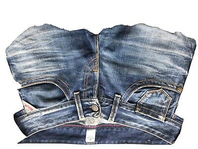 Replay Ladies Boot Cut Jeans Size 27 Waist Not Levi's , Gstar, Wrangler , Lee • 20£