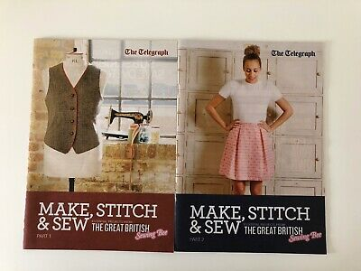Great British Sewing Bee Learn To Sew Book Projects Telegraph New • 6£