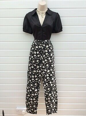 Cigarette Pants,trousers,rockabilly,50's,60's Vintage Style,next,size 12,nwts • 6.99£