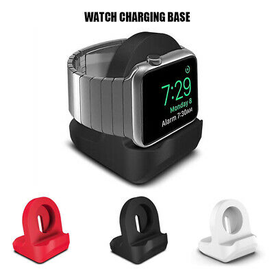 $ CDN4.68 • Buy For Apple Watch IWatch Series 1/2/3/4 Charger Stand Holder Silicone Dock Handle