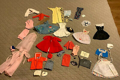$ CDN59.78 • Buy Huge Lot Original Vintage Barbie Clothes Sets Tagged 1960's Very Nice