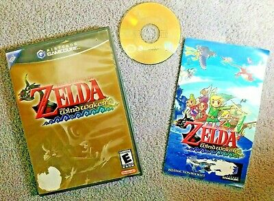 $64.35 • Buy Legend Of Zelda: The Wind Waker (GameCube, 2003) *TESTED!!* **SEE PHOTOS!!**