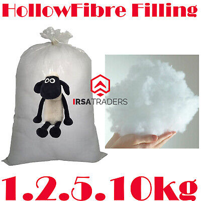 £7.95 • Buy Hollowfibre Virgin Polyester Filling For Stuffing Toys Teddy Bear Cushion Pillow