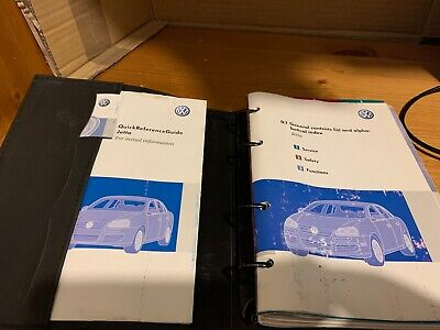 $15.82 • Buy 06-10 Genuine Volkswagen Jetta Owners Handbook Manual Pack And Wallet Original .