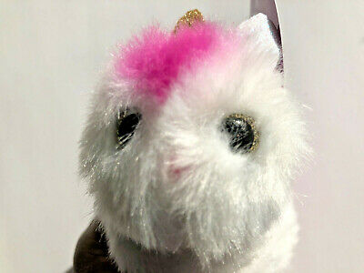 $ CDN8.46 • Buy New, Pomsie Poos Luna Pink & White Unicorn, Series 1 With Gold Eyes