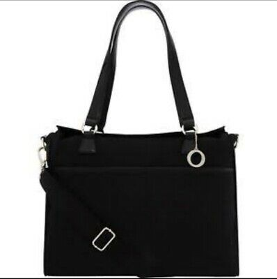 AU85 • Buy New Oroton Black Signature Essentials O Baby Nappy Change Laptop Bag Rrp $495
