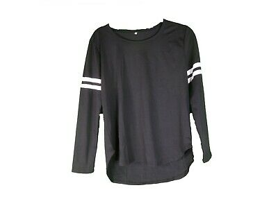 Ladies Bench Sports Jumper Contrast Printed Gym Sweate XL 12 /14 Line Shirt • 9.29£