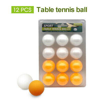 AU11.99 • Buy Table Tennis Ping Pong 12 Pack Competition Balls Orange&White