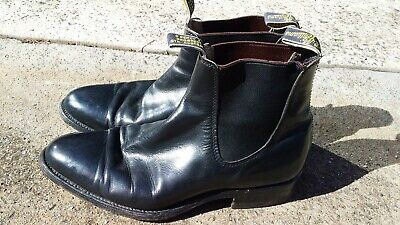 AU100 • Buy RM Williams Men's Pre-owned Black Boots Size 8.5G, Great Condition.