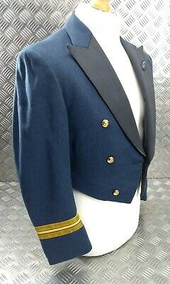 £119.99 • Buy Genuine Vintage RAF Issue Officers Squadron Leaders Mess Dress Jacket R.E City
