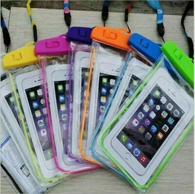 £2.99 • Buy Waterproof Phone Case Protector Cover Underwater Floating Dry Bag Pouch