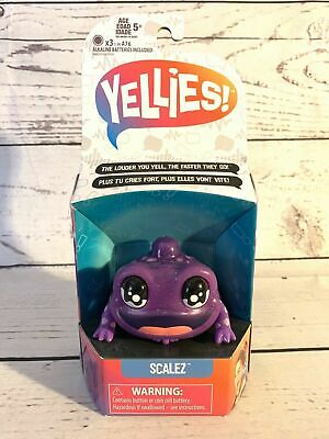 $7 • Buy Yellies! Scalez Voice-Activated Lizard Pet Toy For Kids Ages 5 And Up NEW!