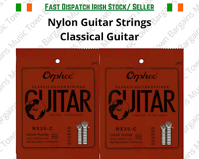 $ CDN9.83 • Buy Classical Nylon Guitar Strings Black Nylon Hard Tension Spanish Violāo Guitara