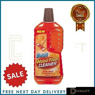 Wood Floor Cleaner 1Litre Dirt Remover Laminate Varnish Camomile NO Residues • 5.29£