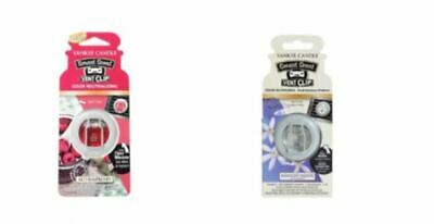 NEW  Pack Of 2 Yankee Candle Smart Vent Car Jar Many Scents Lasts Up To 6 Weeks • 9.98£