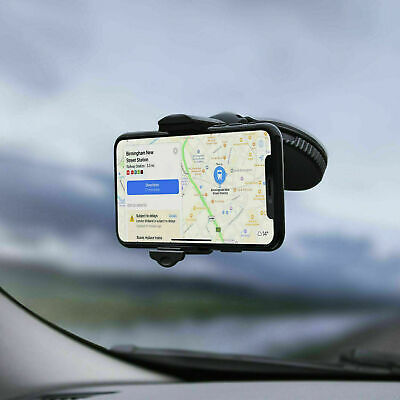 360 Rotation In Car Windscreen Suction Mount Mobile Phone Holder Bracket Stand • 5.99£