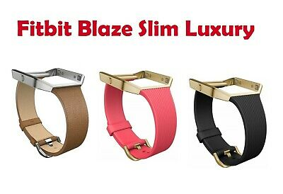 $ CDN225.28 • Buy NEW Original Fitbit Blaze Accessory Replacement Band Slim Luxury Small Large