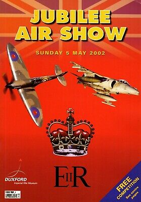 £3.99 • Buy Duxford 2002 May Jubilee Airshow Official Souvenir Programme