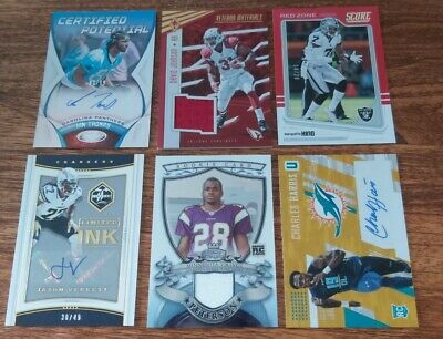 $ CDN0.99 • Buy Rookie, Auto, Jersey #ed Lot Of 17 Cards