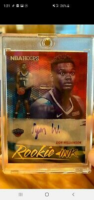 $658 • Buy 2019 20 Panini Hoops Rookie Ink Zion Williamson Autograph Auto Rookie  Pelicans