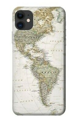 S0604 World Map Case For IPHONE Samsung Smartphone ETC • 9.99£