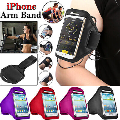 Armband Sports Gym Running Jogging Arm Band Case For Apple IPhone 5 6 7 8 X Plus • 2.49£