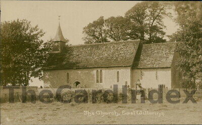 EAST WITTERING Assumption St. Mary The Virgin Church Postcard Chichester SUSSEX • 6.94£