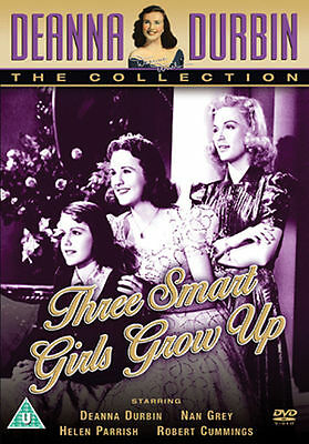 Deanna Durbin Three Smart Girls Grow Up DVD 1940s Film • 3.99£