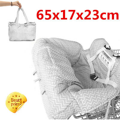 £16.45 • Buy Baby Shopping Supermarket Trolley Cart Seat  Child High Chair Cover Protecor VC