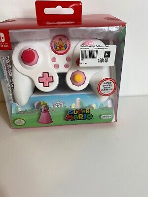 $25 • Buy Nintendo Switch Princess Peach GameCube Style Wired Controller Fight Pad Pro..
