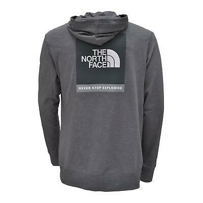 $43.50 • Buy The North Face Boxed Out Injected Full Zip Hoodie Lightweigt Grey Heather XL