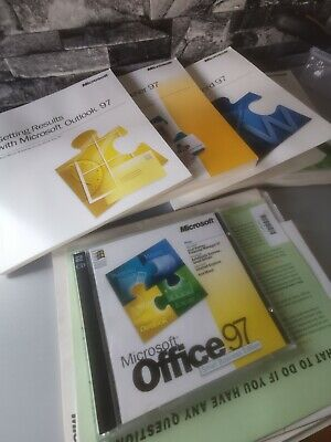 Microsoft Office 97 Small Business Edition OEM With Key AutoRoute Express Rare  • 29.99£
