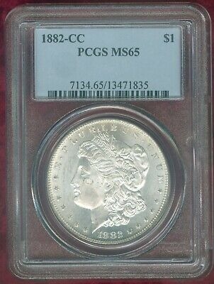 $81 • Buy PCGS MS 65 1882-CC Morgan Dollar--Huge Mint Frost